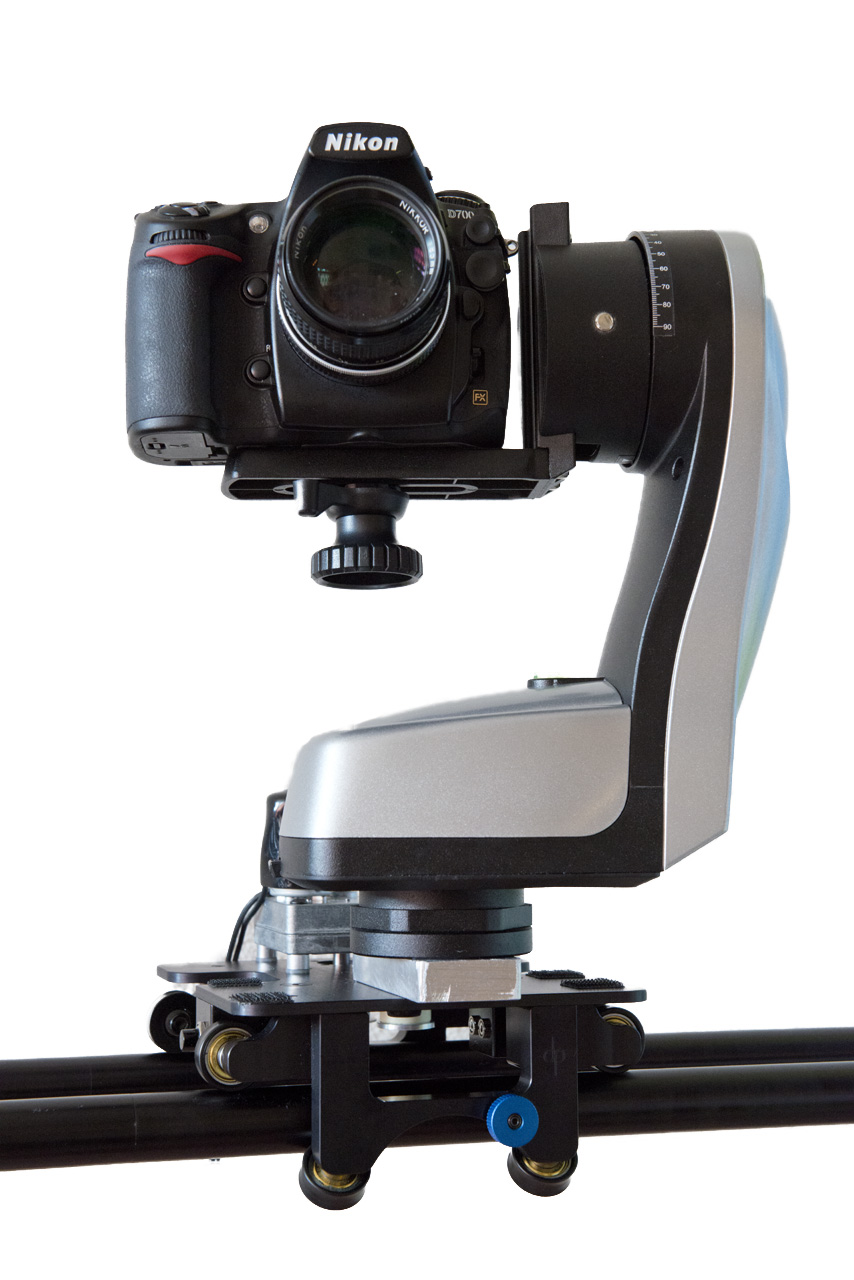 How to mount a merlin head on the dynamic perception stage for Motorized video camera mount